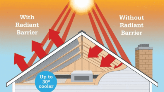 Attic Radiant Barrier Installation Service Company