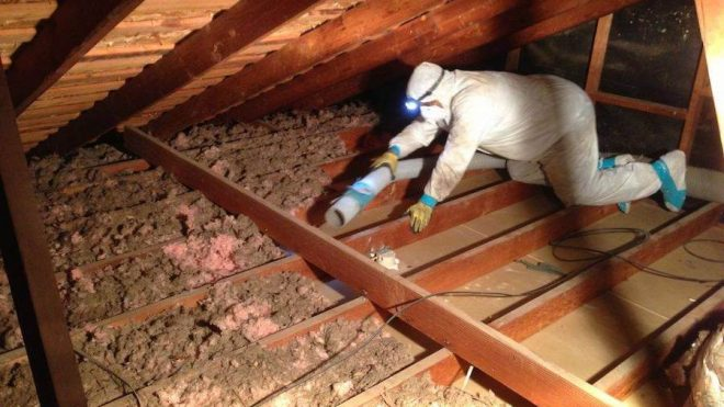 How to Remove Insulation from Your Attic