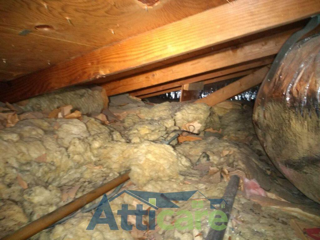 Attic Clean Up Amp Insulation Replacement In Santa Clarita