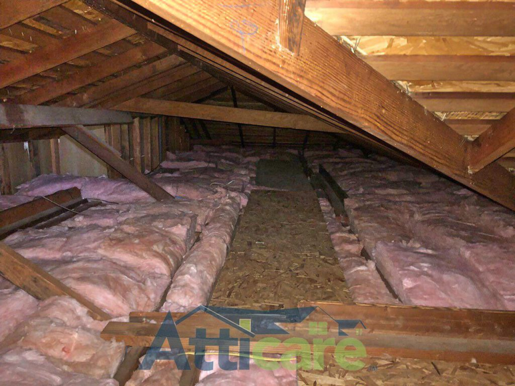 Attic And Crawlspace Insulation Replacement In Fremont Ca