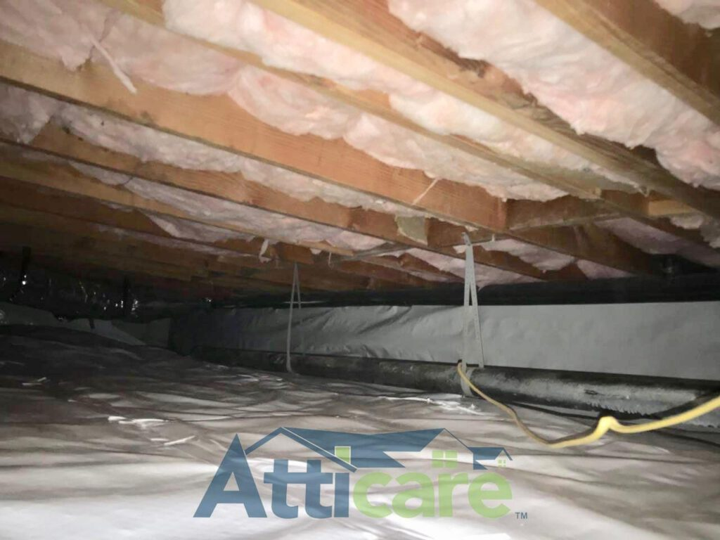 Crawlspace Insulation & Moisture Barrier