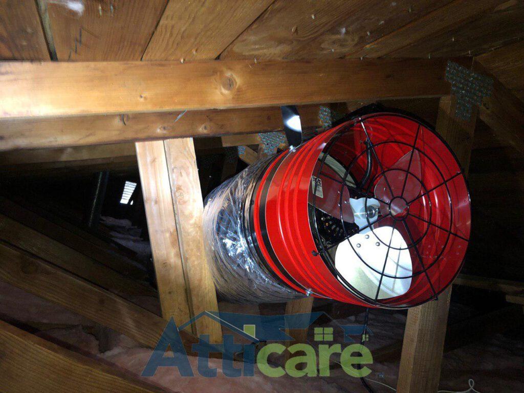 Whole House Fan Installation In Dublin Ca Atticare Usa