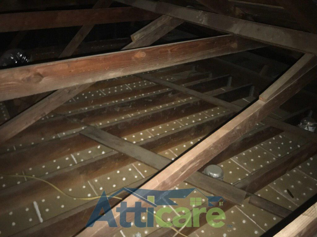 Attic Clean Up Amp Insulation Replacement In Long Beach Ca