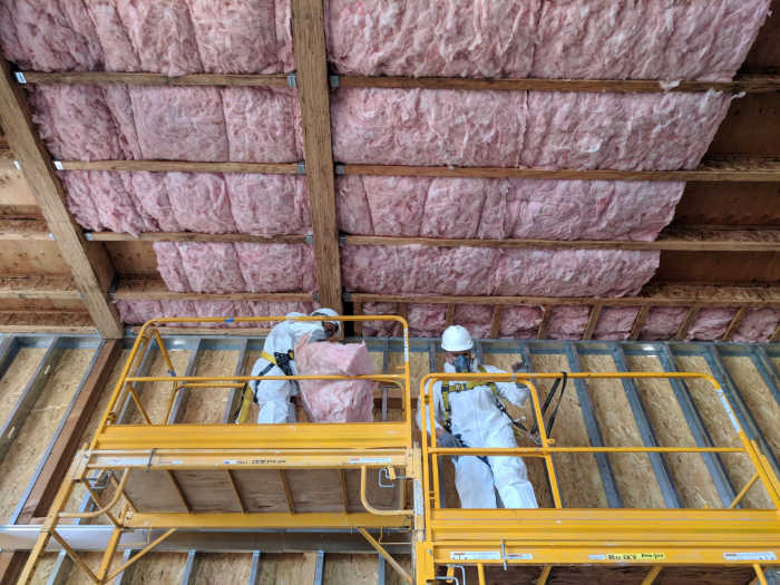 Commercial Insulation Installation and Removal Service Company San Francisco | Los Angeles CA | New Jersey