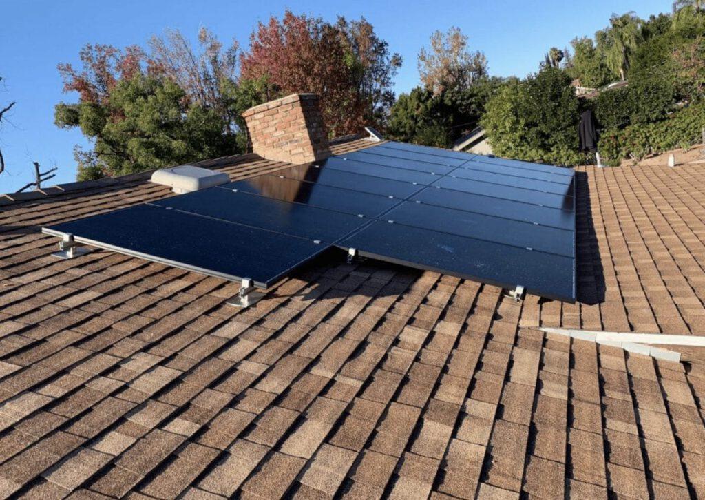 solar installation in Encino
