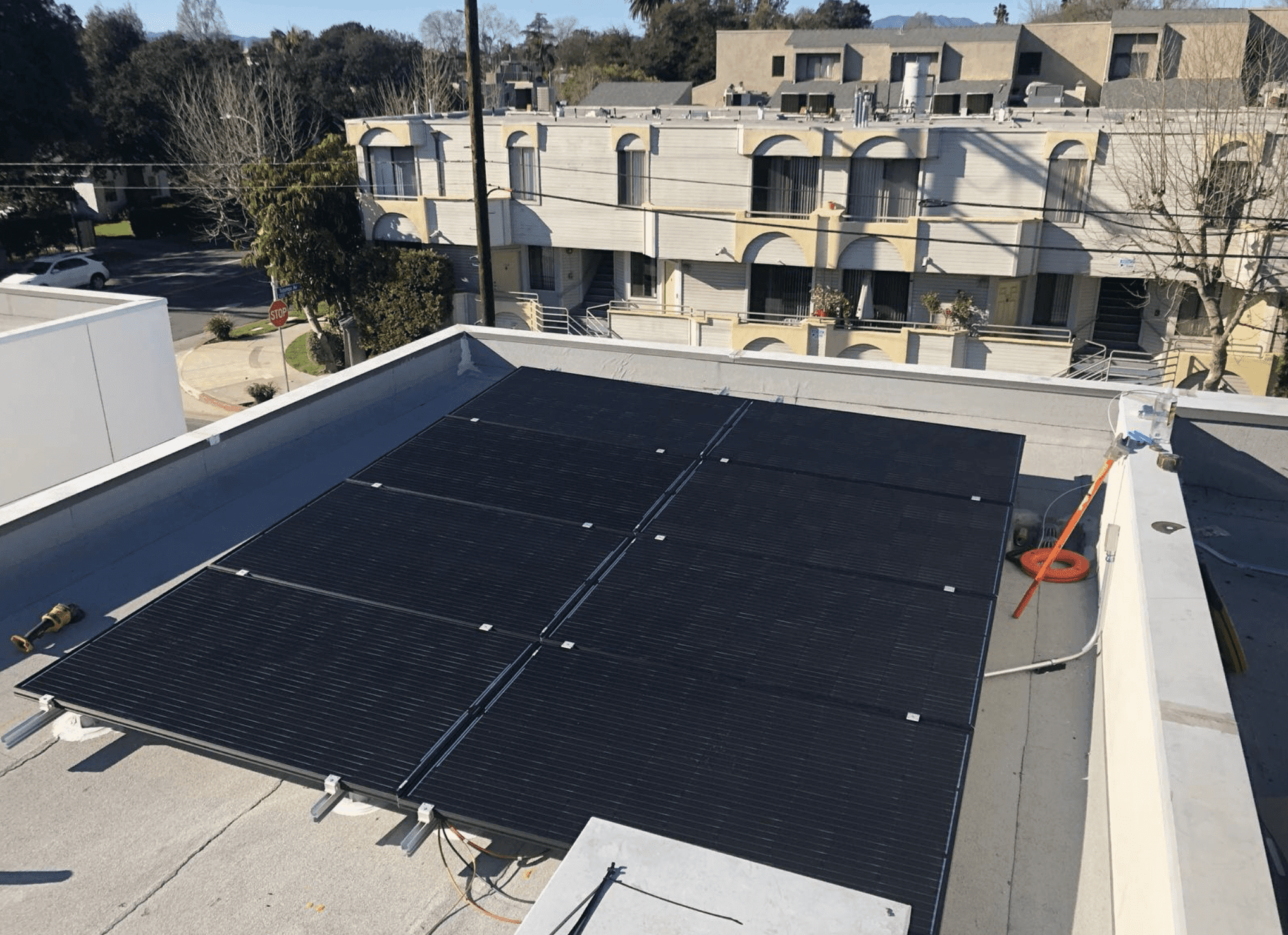 Solar Panels installation in Encino