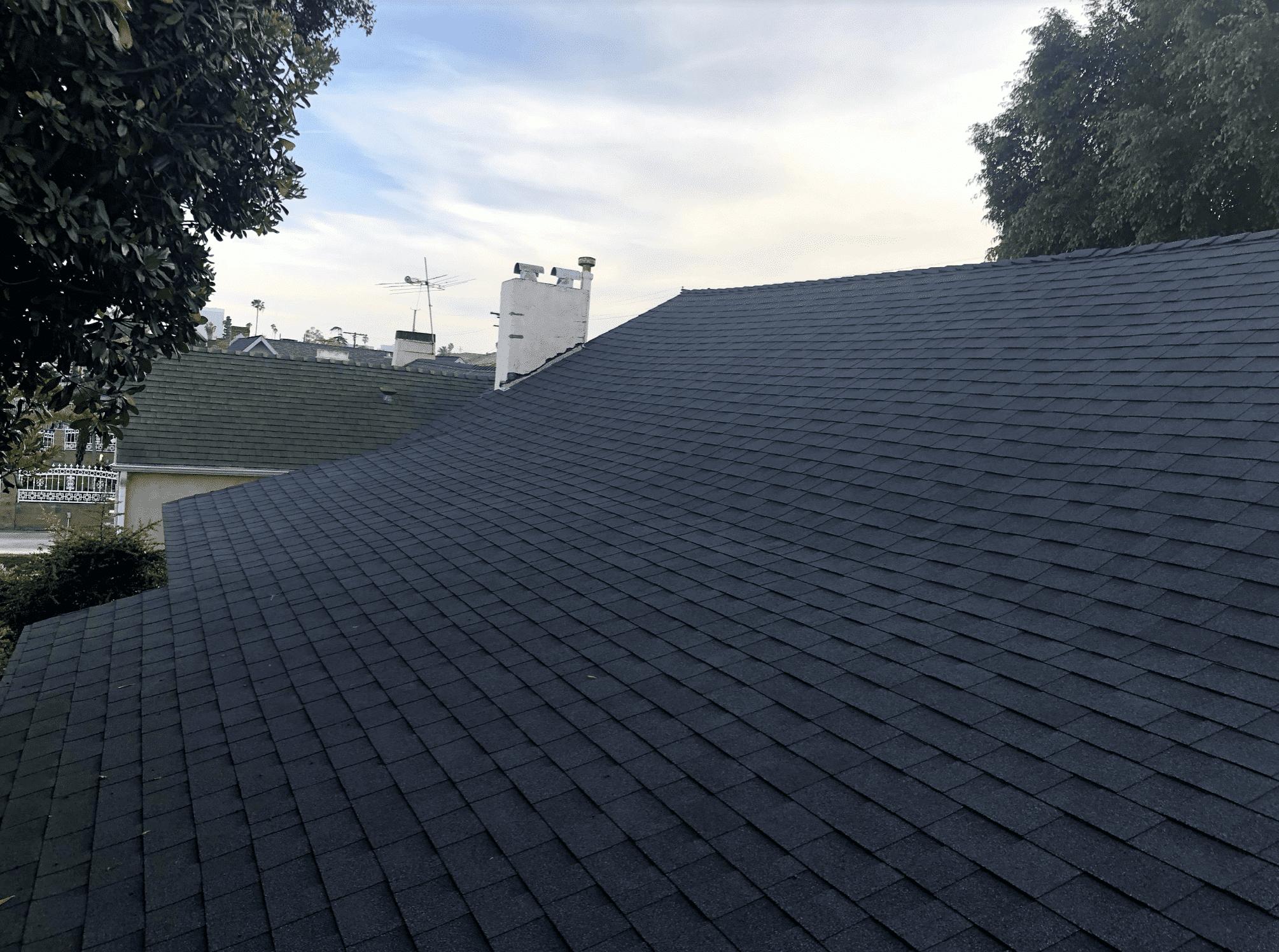Roof installation in Pasadena