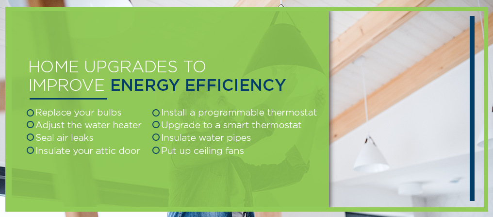 home upgrades to improve energy efficiency